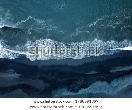 Islândia praia belo longa exposição água natureza Foto stock © iko