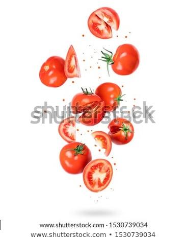 Isolated Cut Tomatos  Stock photo © Kuzeytac