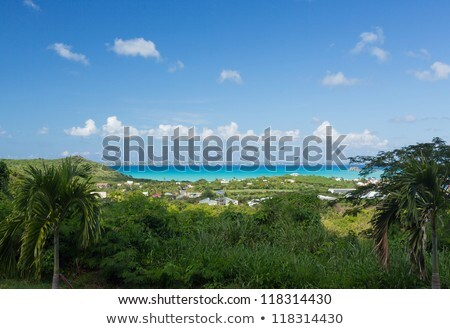 Cas ville ciel eau paysage mer Photo stock © backyardproductions