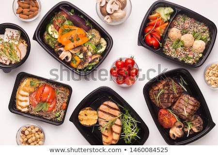 Tasty Meal stock photo © barabasa