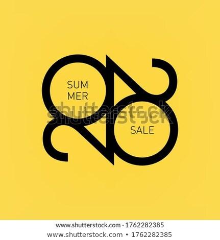 夏 · ベクトル · アイコン · デザイン · デジタル - ストックフォト © rizwanali3d