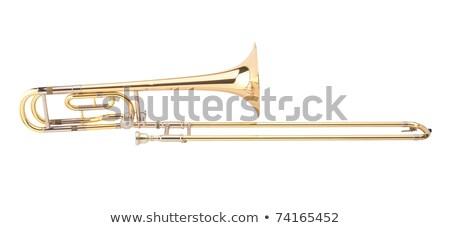 trombone one of the music instrument Stock photo © shutswis