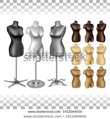 White half body mannequin Stock photo © jrstock