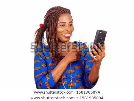 jonge · vrouw · gebaren · mooie · business · gezicht - stockfoto © ra2studio