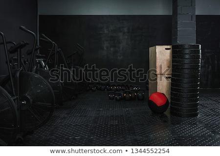 空っぽ crossfitの ジム ロープ フィットネス 重量 ストックフォト © wavebreak_media
