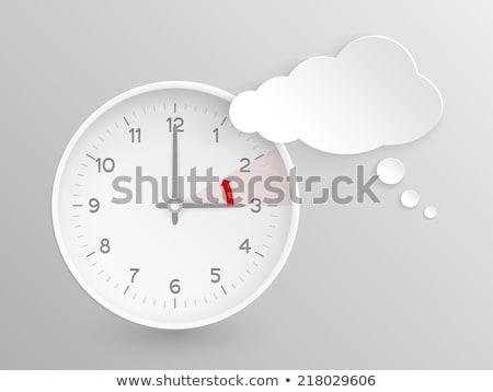 European Union End Of Time Change Stockfoto © wenani