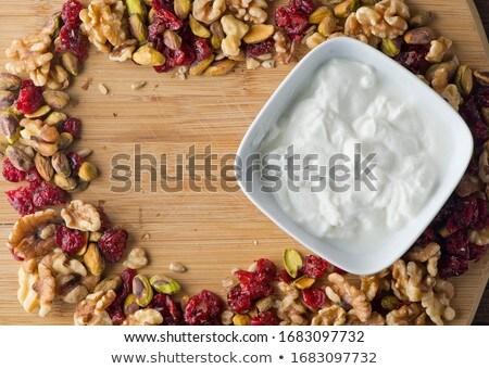 Casero granola secado Berry frutas energía Foto stock © furmanphoto