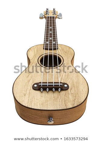 Wooden traditional soprano ukulele Right view 3D Stock photo © djmilic