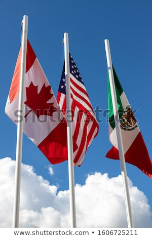 üzlet kereskedelem egyezmény Egyesült Államok Kanada Mexikó Stock fotó © Lightsource