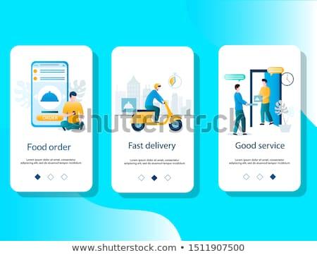 Delivery goods service Stock photo © jossdiim