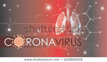 Globalny koronawirus zakażenie projektu zdrowia wiadomości Zdjęcia stock © SArts