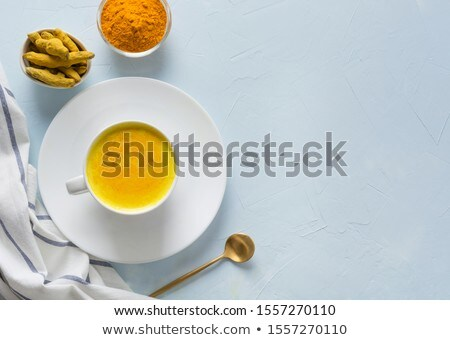 Ayurvedic herbal tea in a cup Stock photo © bdspn