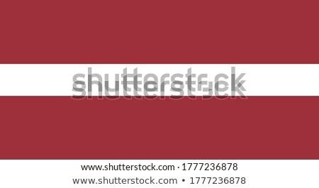 Латвия флаг белый бизнеса дизайна краской Сток-фото © butenkow