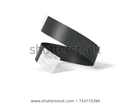 Blank paper event bracelet Stock photo © montego