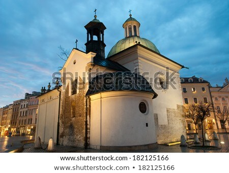 Kościoła Polska jeden kamień kościoły Zdjęcia stock © borisb17