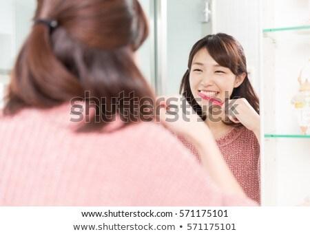 красивой · азиатских · женщину · хорошие - Сток-фото © piedmontphoto