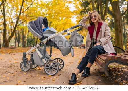 Family sat together on rocks Stock photo © photography33
