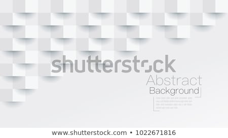 Vector abstract background - geometric gray ornament Stock photo © pzaxe