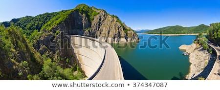 Vidraru dam Lake Stock photo © maxmitzu