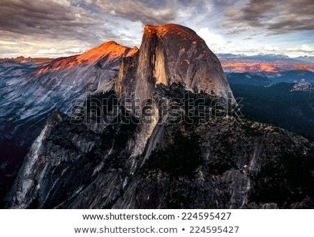 ドーム 表示 山 ヨセミテ国立公園 カリフォルニア ストックフォト © pedrosala