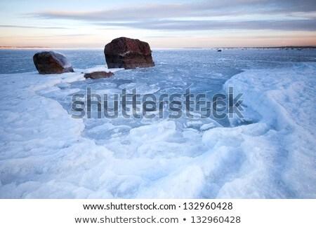 Kép Balti-tenger tavasz idő égbolt háttér Stock fotó © fotoaloja
