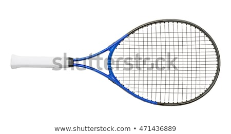 Tenisz illusztráció mosoly pár űr hálózat Stock fotó © adrenalina