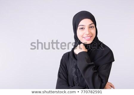 улыбаясь · молодые · Lady · белый · женщину · девушки - Сток-фото © stockfrank