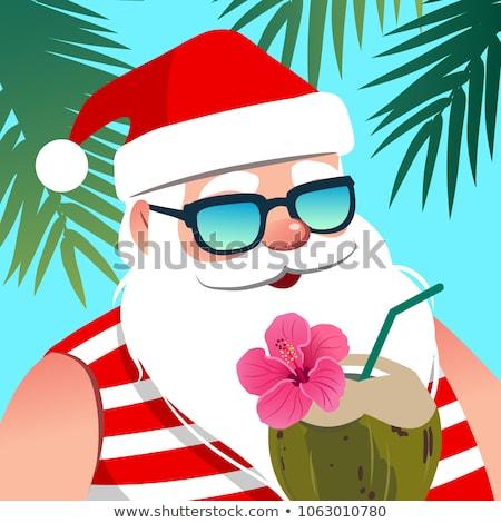 Foto stock: Caliente · Navidad · vacaciones · vector