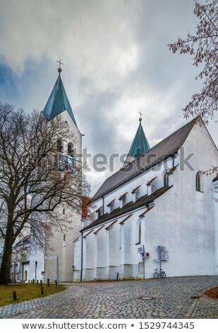 Kathedraal Duitsland poort toren reizen architectuur Stockfoto © borisb17