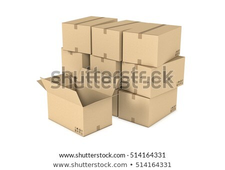 box . 3d computer modeling Stock photo © shutswis
