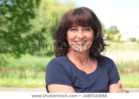 Woman in the countryside Stock photo © photography33