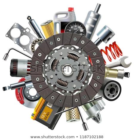 vector car parts consept stock photo © dashadima
