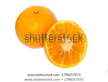 оранжевый изолированный белый фрукты фон кожи Сток-фото © natika