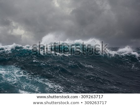 stormy ocean stock photo © photohome
