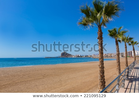 Aguilas Levante beach Murcia in Spain Stock photo © lunamarina