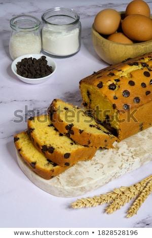 Delicious fresh tea cakes with butter Stock photo © raphotos
