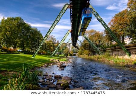 Németország vízfesték művészet nyomtatott sziluett sziluett Stock fotó © chris2766