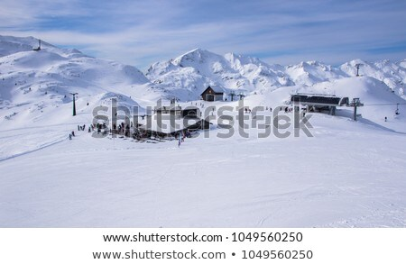 Ski center of Vogel Stock photo © Fesus