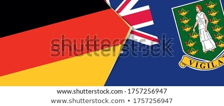 Germany and Virgin Islands (British) Flags Stock photo © Istanbul2009