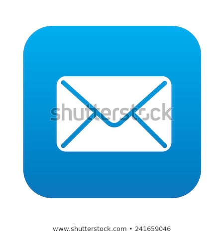 Küld kék vektor ikon terv digitális grafikus Stock fotó © rizwanali3d