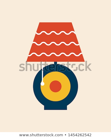 home flat yellow color rounded raster icon stock photo © ahasoft