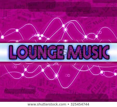 Társalgó zene hang audio Stock fotó © stuartmiles