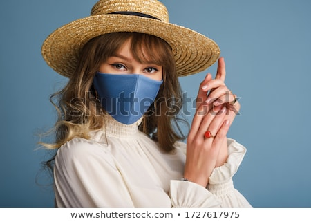 Girl wearing hat Stock photo © IS2