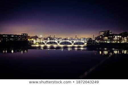 Pont des Catalans in Toulouse Stock photo © benkrut