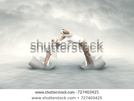 Balanced relationship concept in a couple  Stock photo © ichiosea