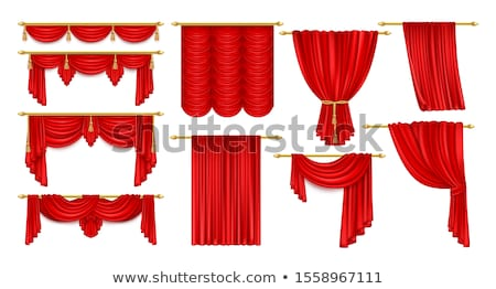 Theater drapes Stock photo © montego