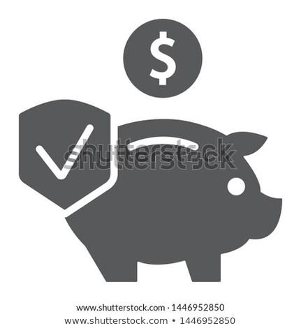 Income Vector Glyph Icon Stock photo © smoki