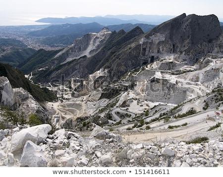 marbre · alpes · Toscane · Italie · construction · paysage - photo stock © wjarek