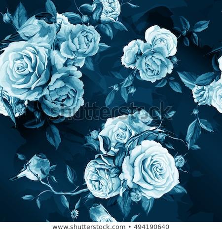 Güzel bağbozumu çiçekler arka plan sanat Stok fotoğraf © balasoiu