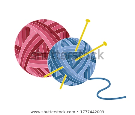 ball of natural cord Stock photo © pterwort